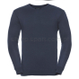 Men`s V-Neck Knitted Pullover, Z710 granatowy